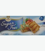 Asolo Dolce Sugar Free Puff Pastry With Apple Jam