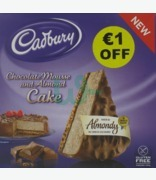 Almondy Cadbury Chocolate Mousse And Almond Cake