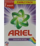 Ariel Colour & Style 40 Washes