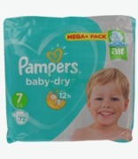 Pampers Baby Dry No 7 15+kg