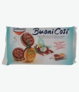 Galbusera Buoni Cosi Cocoa Biscuits With Vanilla Cream