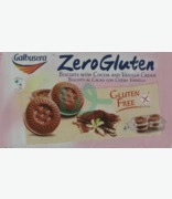 Galbusera Zero Gluten Biscuits With Cocoa And Vanilla Cream( G. F. S)