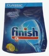 Finish Lemon Refill Dishwasher Powder