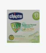 Chicco Zanza No Citronella Wipes X