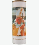 Candle Pope John Poul 2 50t X