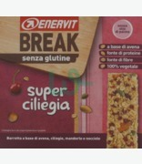 Enervit Break Senza Glutine Super Ciliegia