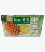 Carrefour Yoghurt Magro Pineapple