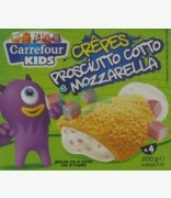 Carrefour Kids Pancakes With Ham & Cheese X 4
