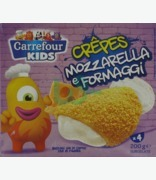 Carrefour Kids Crepes Mozzarella E Formaggi X 4