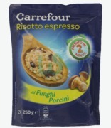 Carrefour Risotto With Mushrooms