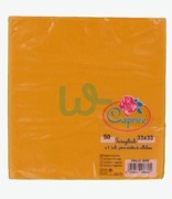 Caprice Yellow Napkins 33 X 33 2 Ply