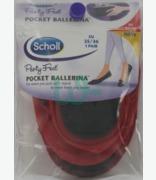 5d25349fdaf7 Scholl Pocket Ballerina Red Size 35-36