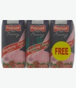 Pascual Creamy Strawberry Flavoured Drink 2 + 1 Free
