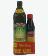 Borges Extra Virgin Olive Oil 750ml + Free Balsamic Vinagre