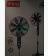 King 8- Blade Propeller Stand Fan