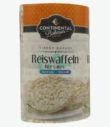 Continental Bakeries Rice Cakes Sea Salt ( G. F. S)