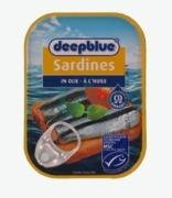 Deep Blue Sardines In Oil