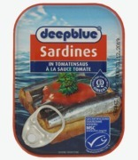 Deep Blue Sardines In Tomato Sauce
