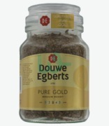 Douwe Egberts De Pure Gold Instant Coffee