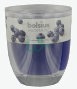 Bolsius Scented Glass Candle Blueberry X