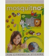 Mosquitno Fun Citronella Stickers