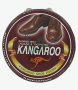 Kangaroo Shoe Polish Dark Brown X