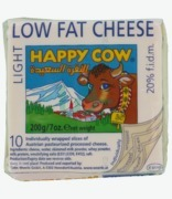Happy Cow Sliced Cheese Low Fat
