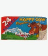 Happy Cow Sliced Regular Cheese