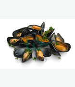 Fish Counter Cozze / Mussels