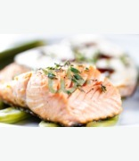 Fish Counter Salmon Steaks