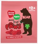 Bear Dino Paws Strawberry & Apple